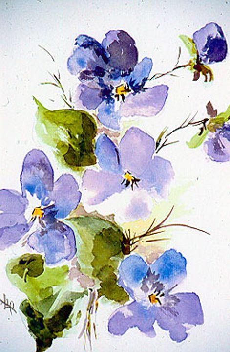 Violets are Blue - Flower Shop