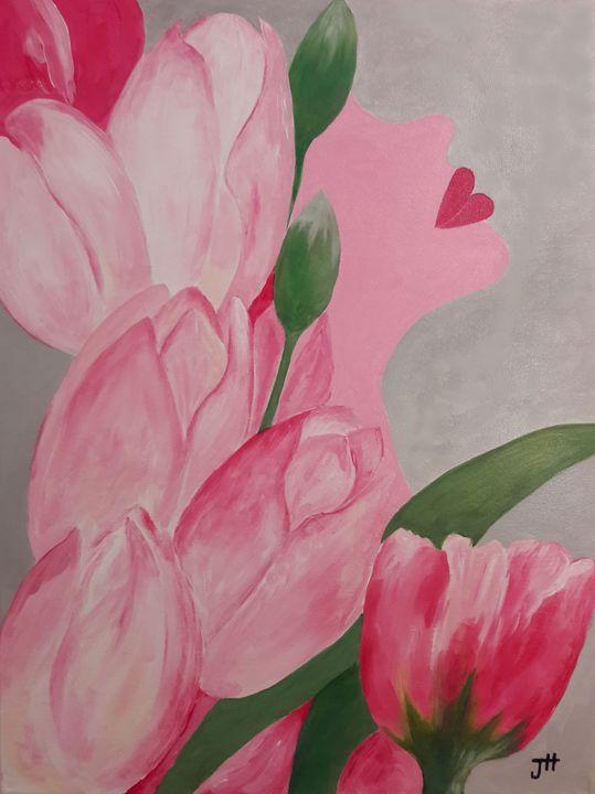 Delilah in Pink - Flower Shop