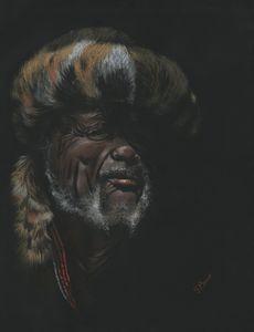 Zulu Chief Portrait