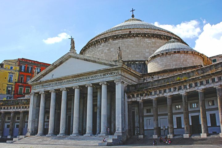 Old Vatican in Naples Italy - Abigail Eveline Photography