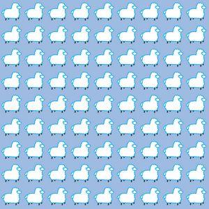 Blue lamas