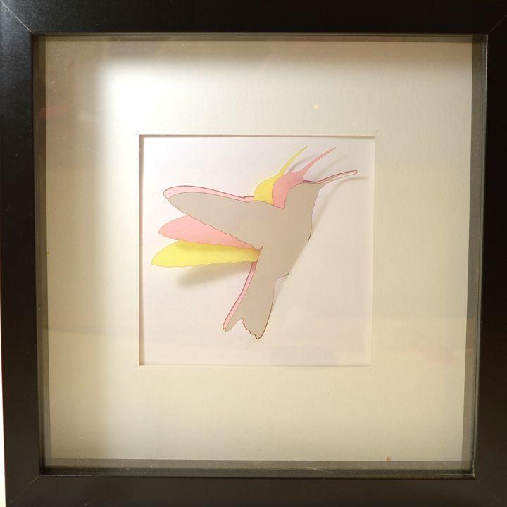 Hummingbird caught in time - theprint