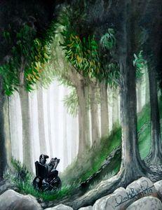 VIRANJAN's Painting : ECSTACY