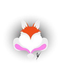 Fox & Bunny Heart