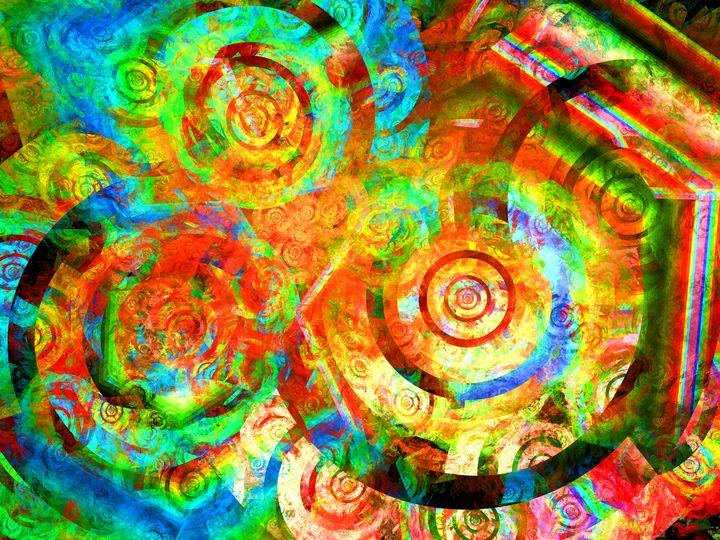 Rainbow targets and hexagons - pedroml
