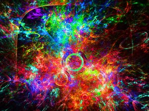 Luminescent agglomerated traces
