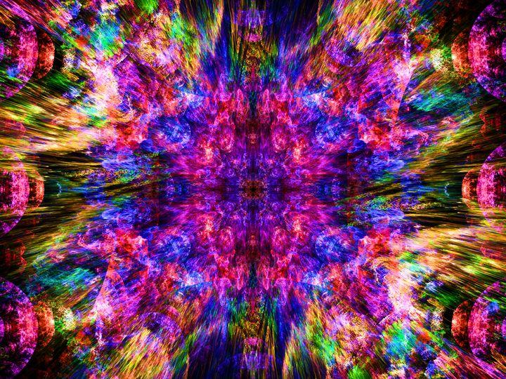Symmetrically formed flashes of ligh - pedroml
