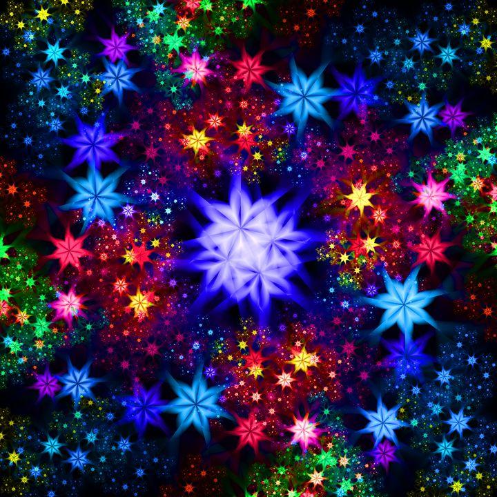 Stellar garden traveling through - pedroml
