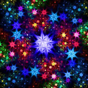 Stellar garden traveling through