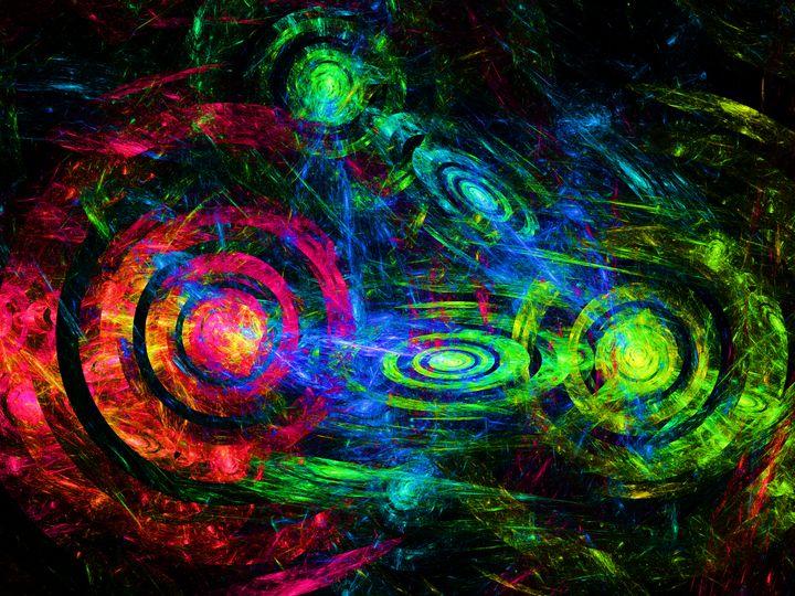 Fluorescent light target galaxies - pedroml