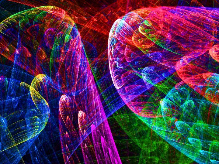 Random neon light show - pedroml