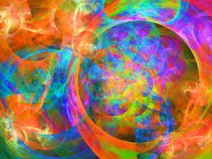 Rotating movements of luminescent bu