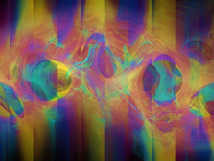 Colorful Neon Stripes - pedroml