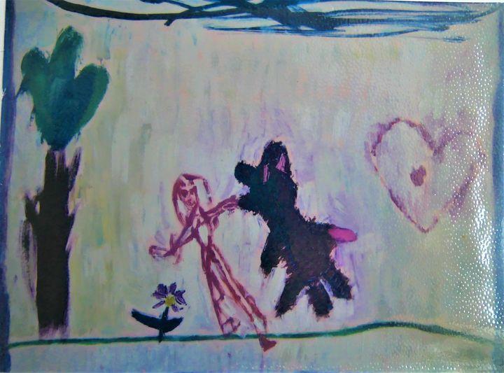 Bear and heart Ours-ULa - Denes Agnes Dora