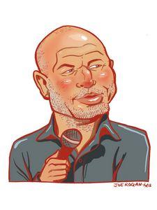 Joe Rogan Caricature