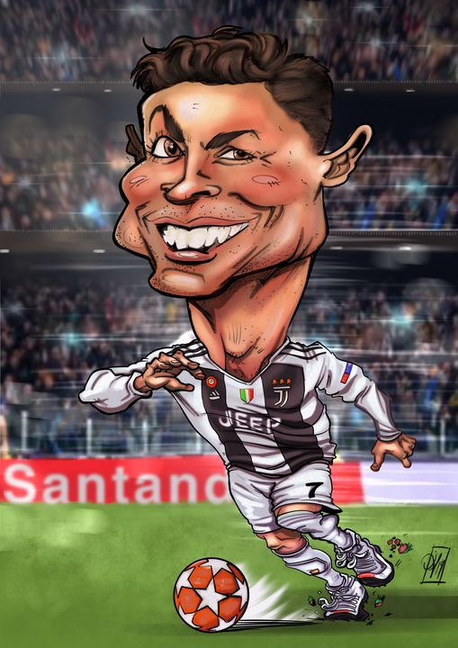 Cristiano Ronaldo - Caricatures