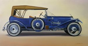 1.1. Rolls-Royce Silver Ghost 40/50 - Hamilton-Walker Art