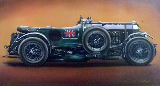 2.1 Bentley 4 1/2 Litre 'Blower' - Hamilton-Walker Art