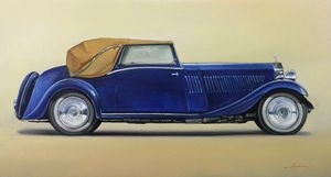 1.2. Rolls Royce Phantom 11 (1931) - Hamilton-Walker Art