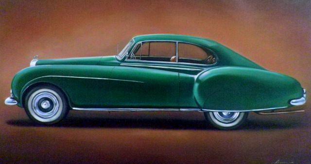 2.4. Bentley 'R' Type Continental - Hamilton-Walker Art