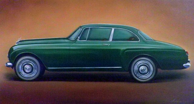 2.5. Bentley S3 H.J. Mulliner Coupe - Hamilton-Walker Art