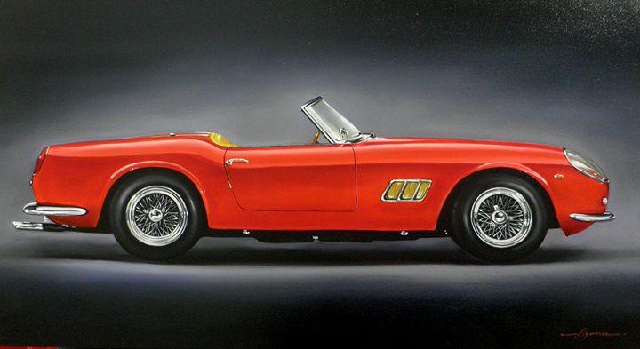 3.2. Ferrari 250 GT SWB California S - Hamilton-Walker Art