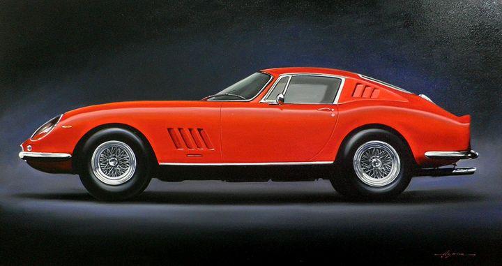 3.4. Ferrari 275 GTB/4 (1967) - Hamilton-Walker Art