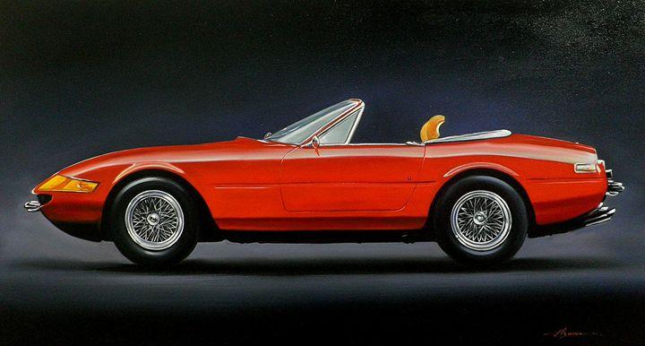3.5 Ferrari 365 GTS 'Daytona' Spyder - Hamilton-Walker Art