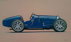 4.1. Bugatti Type 35C Grand Prix - Hamilton-Walker Art