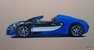 4.6. Bugatti Veyron Meo Costantini - Hamilton-Walker Art
