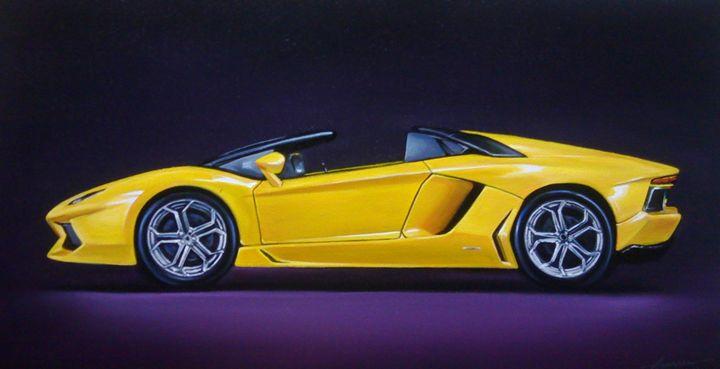 5.5. Lamborghini Aventador Roadster - Hamilton-Walker Art