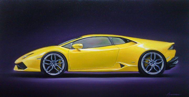 5.6 Lamborghini Huracan - Hamilton-Walker Art