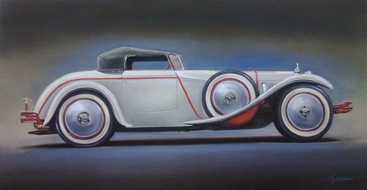 6.1. Mercedes-Benz 680 Saoutchik - Hamilton-Walker Art