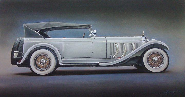 6.2. Mercedes Benz Model S (1929) - Hamilton-Walker Art