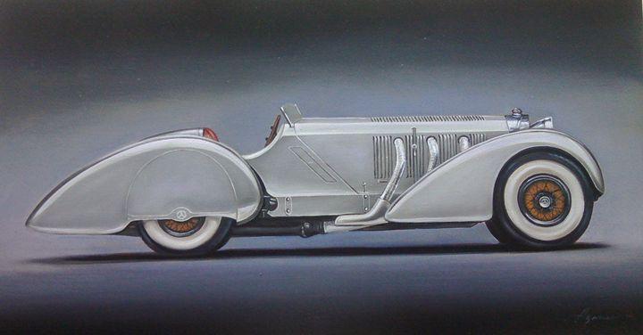 6.3. Mercedes Benz Count Trossi SSK - Hamilton-Walker Art