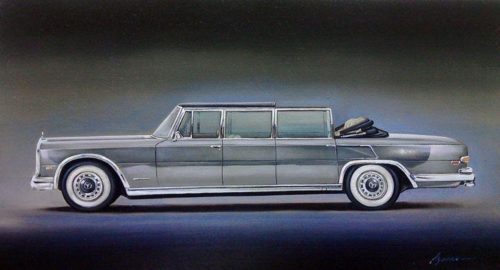 6.6. Mercedes Benz 600 'Pullman' - Hamilton-Walker Art