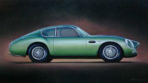7.1. Aston Martin DB4 GT Zagato - Hamilton-Walker Art