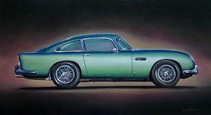 7.2. Aston Martin DB5 (1965) - Hamilton-Walker Art