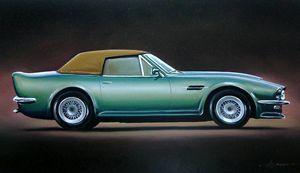 7.3 Aston Martin V8 Vantage Volante - Hamilton-Walker Art