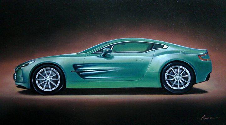 7.5. Aston Martin One-77 (2010) - Hamilton-Walker Art