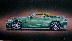 7.6 Aston Martin Vanquish Volante - Hamilton-Walker Art