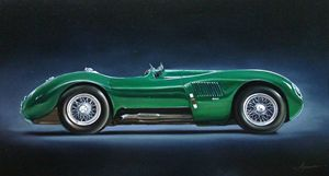 8.3. Jaguar C Type (1952) - Hamilton-Walker Art
