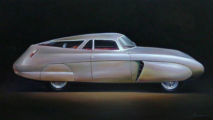 13.1. Alfa Romeo B.A.T. 5 (1953) - Hamilton-Walker Art