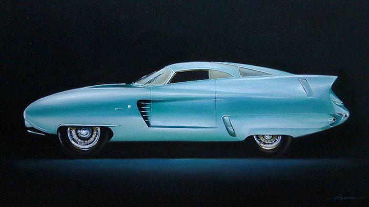 13.3. Alfa Romeo B.A.T. 7 (1954) - Hamilton-Walker Art