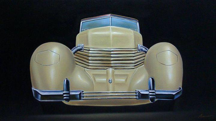 16.2 Cord 812SC Convertible (1937) - Hamilton-Walker Art