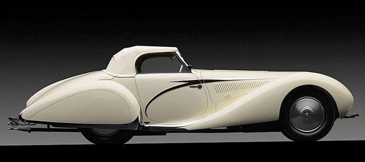 18.1. Talbot Lago T23 Convertible - Hamilton-Walker Art