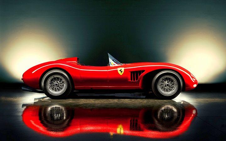 22.3 Ferrari 500 TRC Spider Scagliet - Hamilton-Walker Art