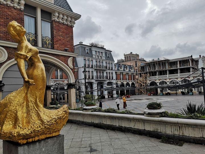 Golden Figure - Ieva Savickaite