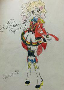 Aikatsu Stars Yume Drawing