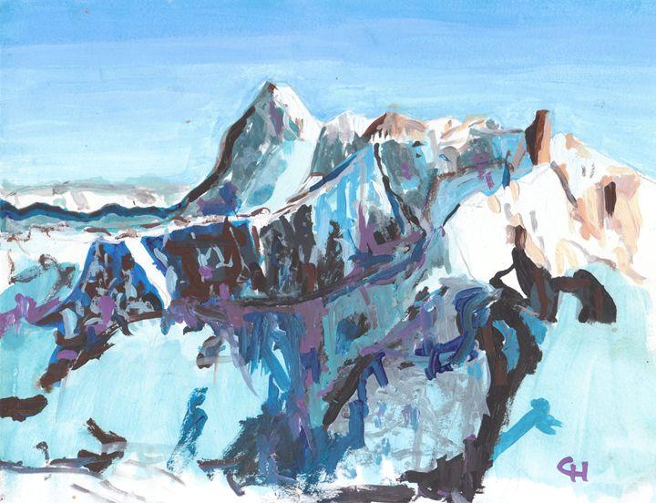 Mountains - Clay Hosmann Art
